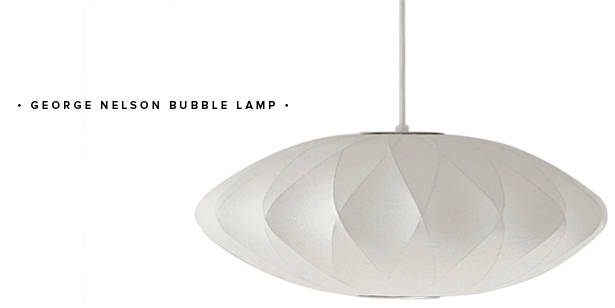 george nelson bubble lamp pendant