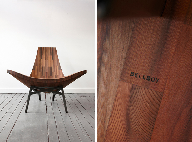 Bellboy Wood Shop Water Tower Chair via MStetson