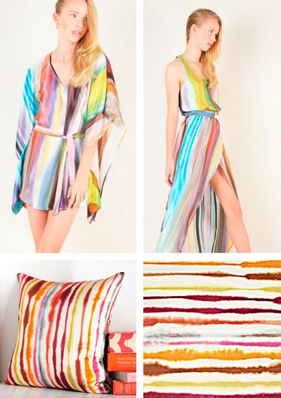 Kimberly Taylor NYC Spring 2011 Irene Mamiye fine art photography West Elm tie dye silk pillow