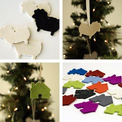 FilzFelt felt ornaments