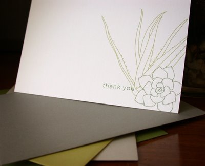 succulent note cards MStetson 4