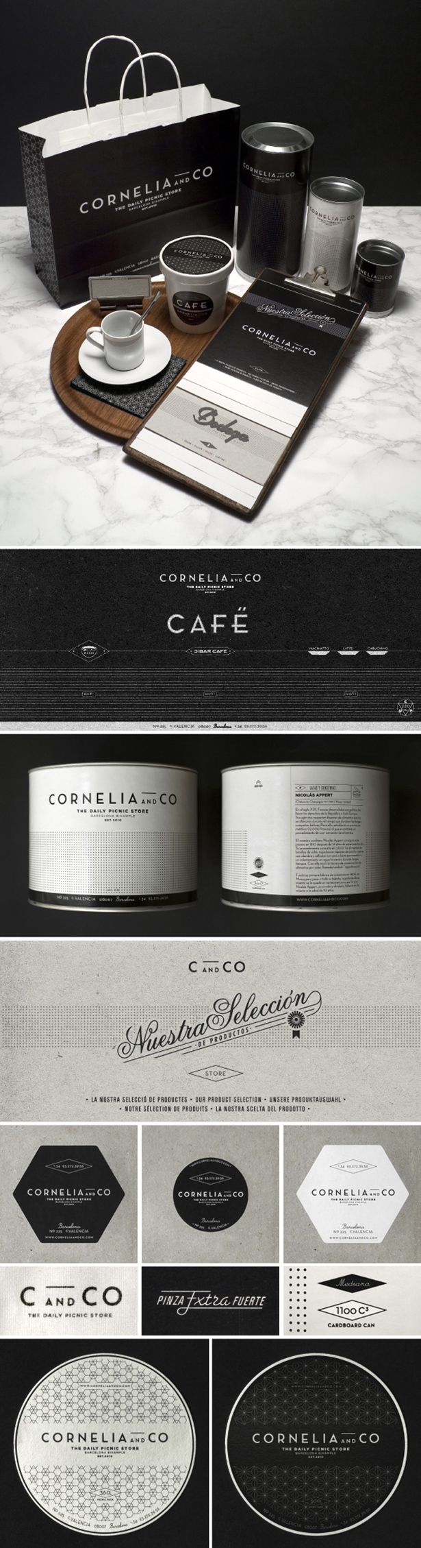 Cornelia and Co Barcelona Daily Picnic Store Fromage Charcuterie