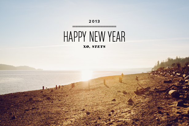 happy new year 2013 mstetson design