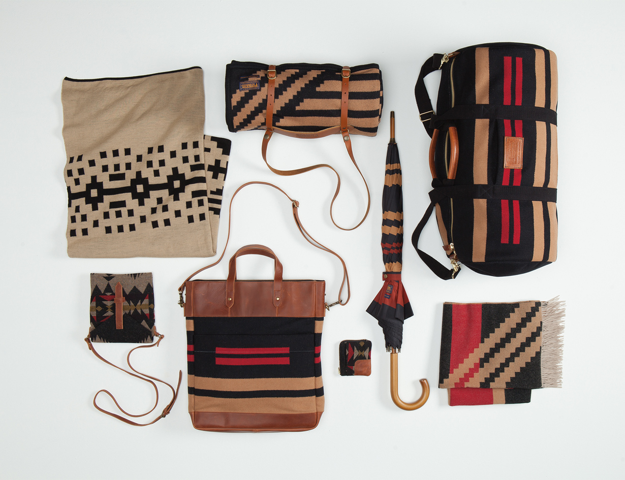 The Portland Collection Pendleton Fall 2013 accessories blankets handbags umbrella