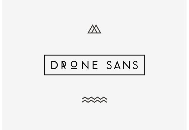 Drone Sans by Henrik Ellersgaard sans serif typeface font
