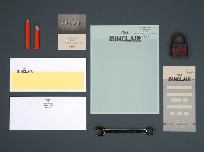 The Sinclair Stationery // By Oat