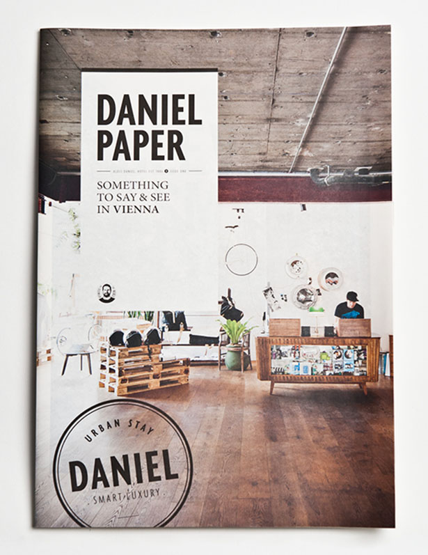 Hotel Daniel Paper designed by Moodley Brand Identity design firm Austria