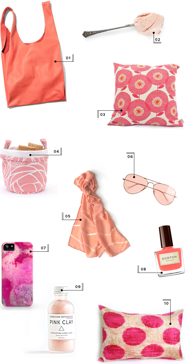 holiday christmas gift guide round-up mstetson design pink gifts
