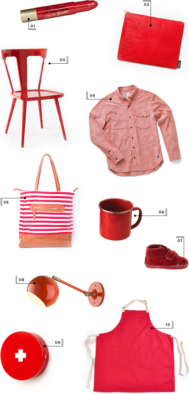 holiday christmas gift guide round-up mstetson design red gifts
