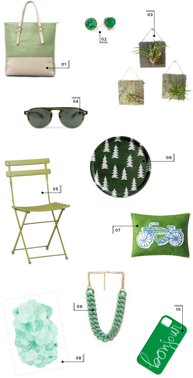 holiday christmas gift guide round-up mstetson design green gift ideas