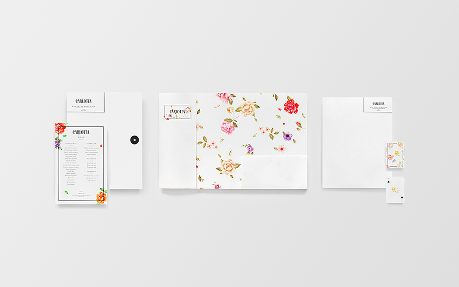 Carlotta boutique branding by Anagrama