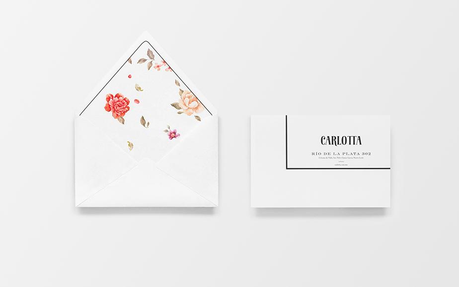 Carlotta boutique branding by Anagrama