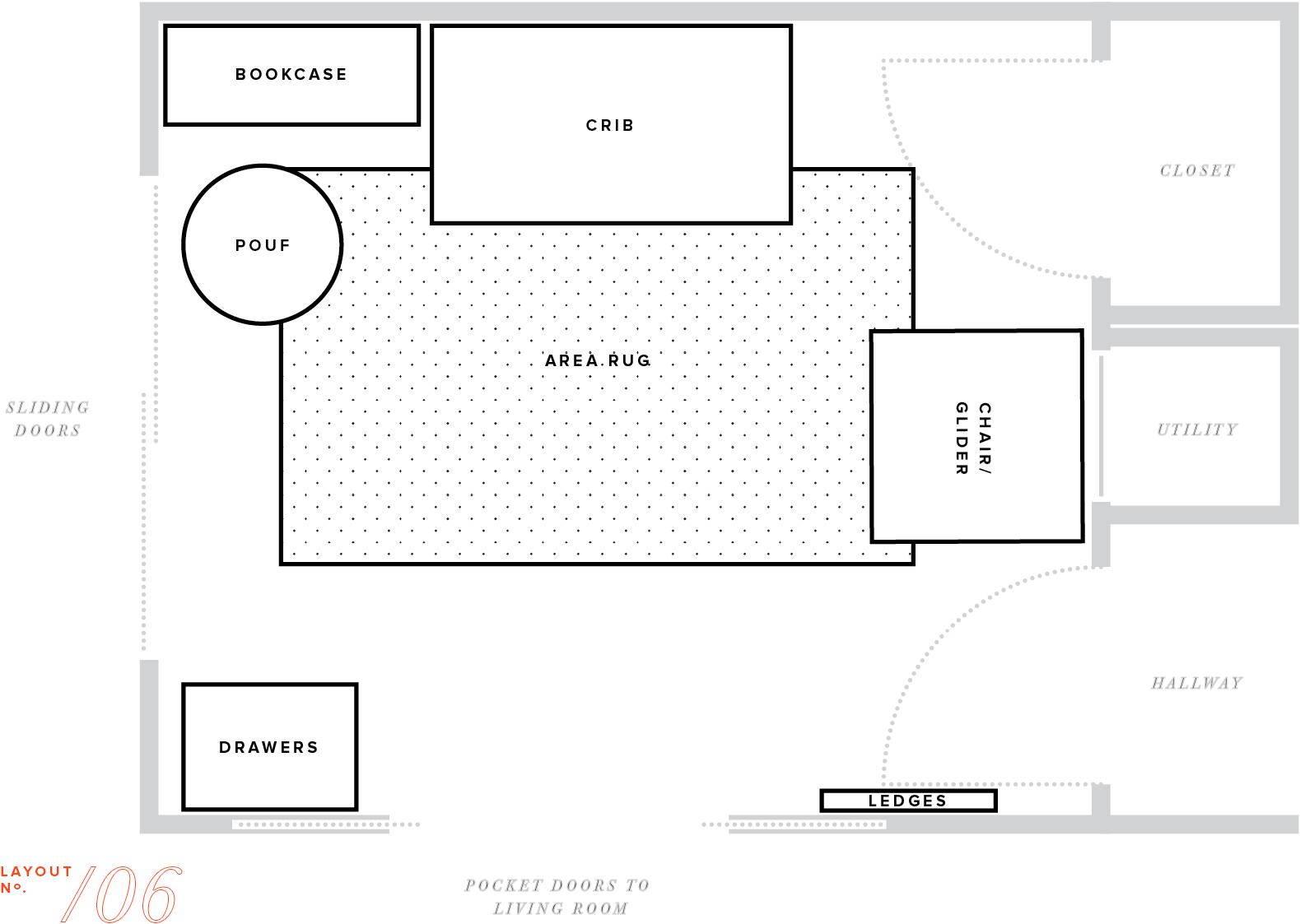 Furniture Layout Plans